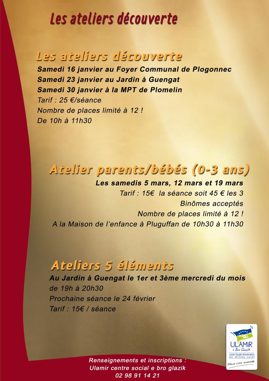 Atelier reflexologie verso Janvier 2016